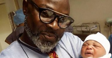 Nigerian Comedian, MC Abbey Welcomes Baby Girl with Wife