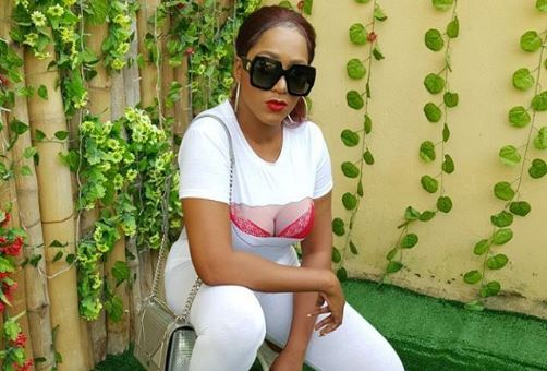 New Year Fashion, Actress, Rukky Sanda Flashes Cleavages