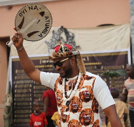 Photos of Actor, Atuanya Chigozie Being Honoured in Anambra state