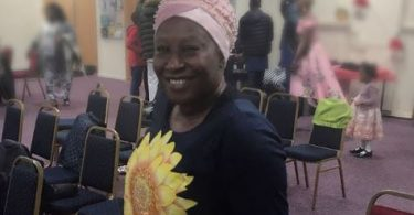 Actress, Patience Ozokwo Bonds with grandchildren in UK